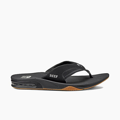 Reef Fanning Sandals Black/Silver