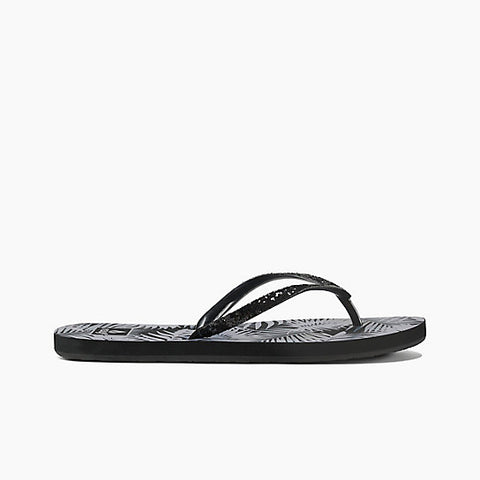 Reef Stargazer Prints Sandals Black Tropic