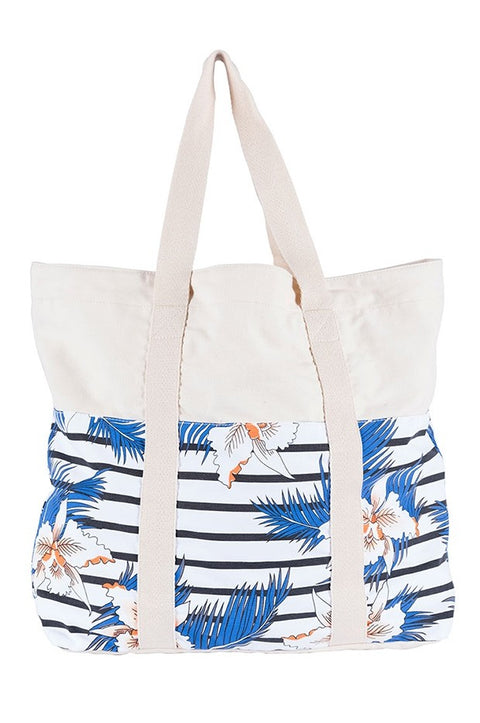 Rip Curl Hot Shot Stripe Tote Beach Bag