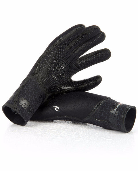 Rip Curl 5 Finger Gloves Flash Bomb 3/2mm