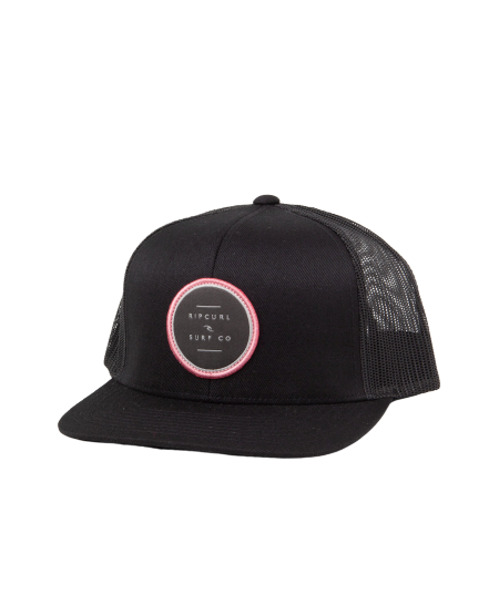 Rip Curl Go To Trucker Hat Black