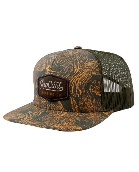 Rip Curl Palm Cruise Trucker Hat Military Green