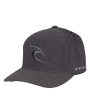 Rip Curl Phase Icon Curve Peak Flexfit Hat Black