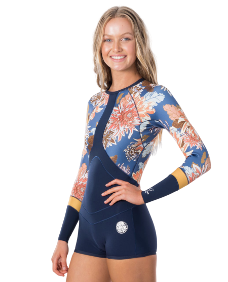 Rip Curl G-Bomb Madison Springsuit L/S 1mm Navy