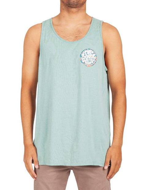 Rip Curl Wettie Central Heritage Tank Slate Blue