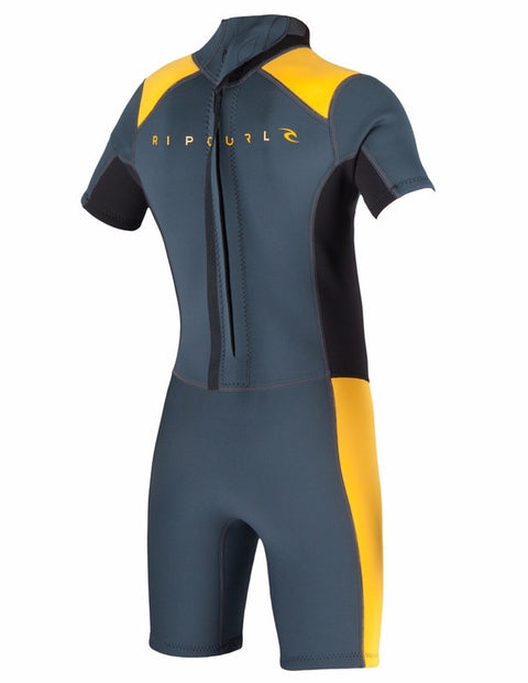 Rip Curl Springsuit Youth Aggrolite S/S 2mm B/Z