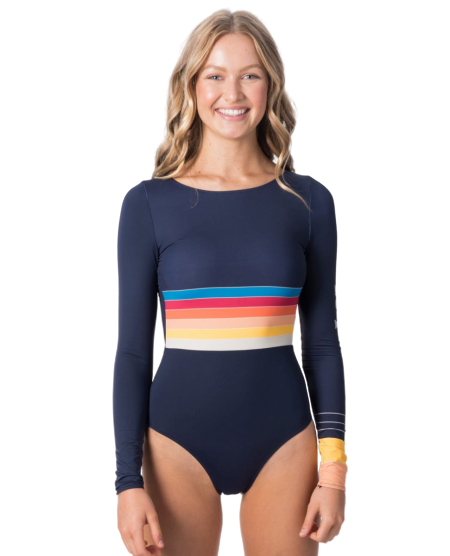 Rip Curl Keep On Surfin L'S UV Surf Suit Navy