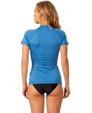 Rip Curl Sunny Rays Relaxed S'S Rashguard Denim