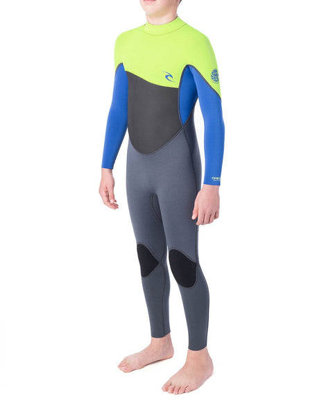 Rip Curl Wetsuit Junior Omega 3/2mm B/Z Lime