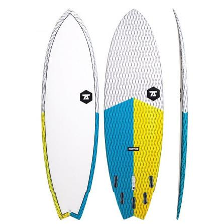 7S Superfish 3 Surfboard 6'3 Yellow / Blue