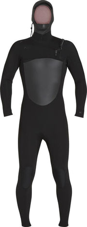 Xcel Wetsuit Infiniti Hooded 5/4mm C/Z Black
