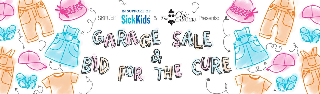 UofT SickKids Garage Sale Bid For The Cure