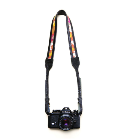 le jolie laide leather camera strap