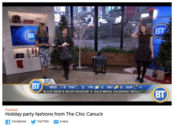 the chic canuck breakfast telelvision