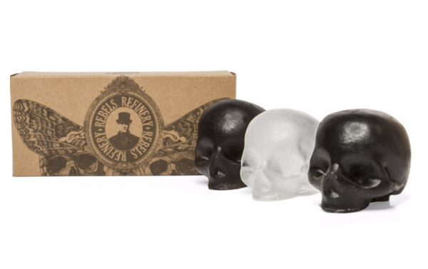 rebels refinery skull soaps