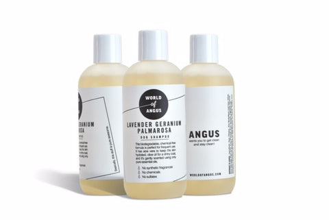 World Of Angus Lavender Dog Shampoo