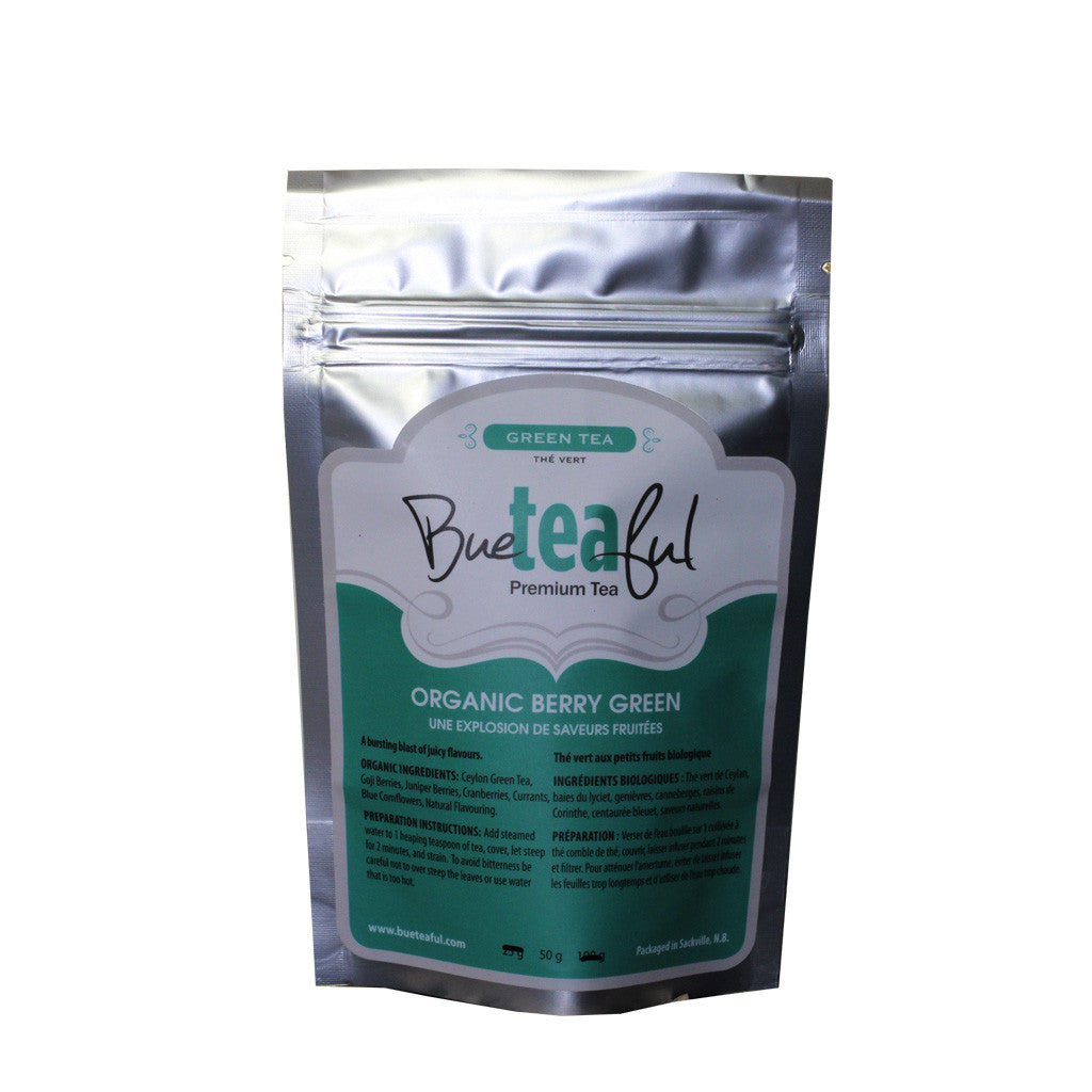 Bueteaful Tea - Organic Berry Green Tea