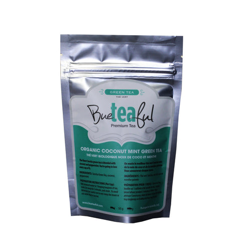 Bueteaful Tea - Organic Coconut Mint Green Tea