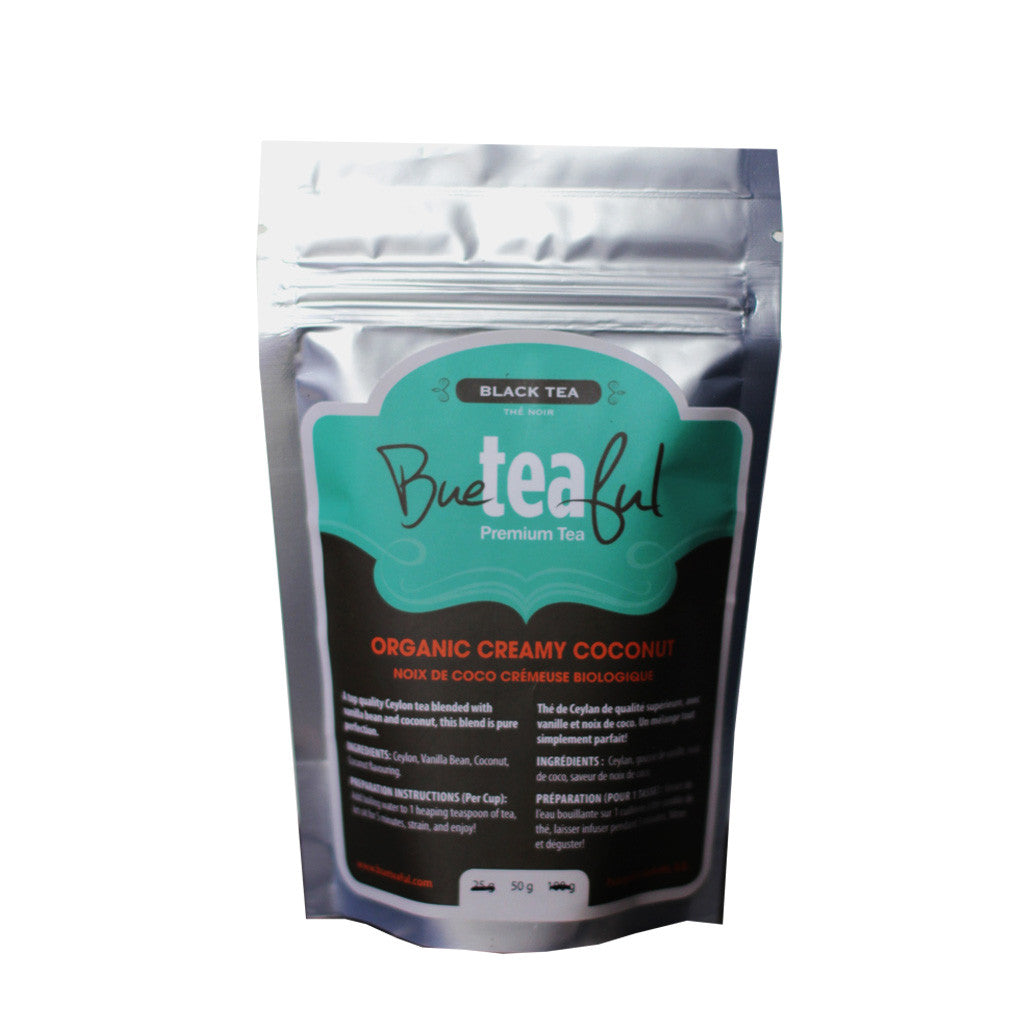 Bueteaful Tea - Organic Creamy Coconut Tea