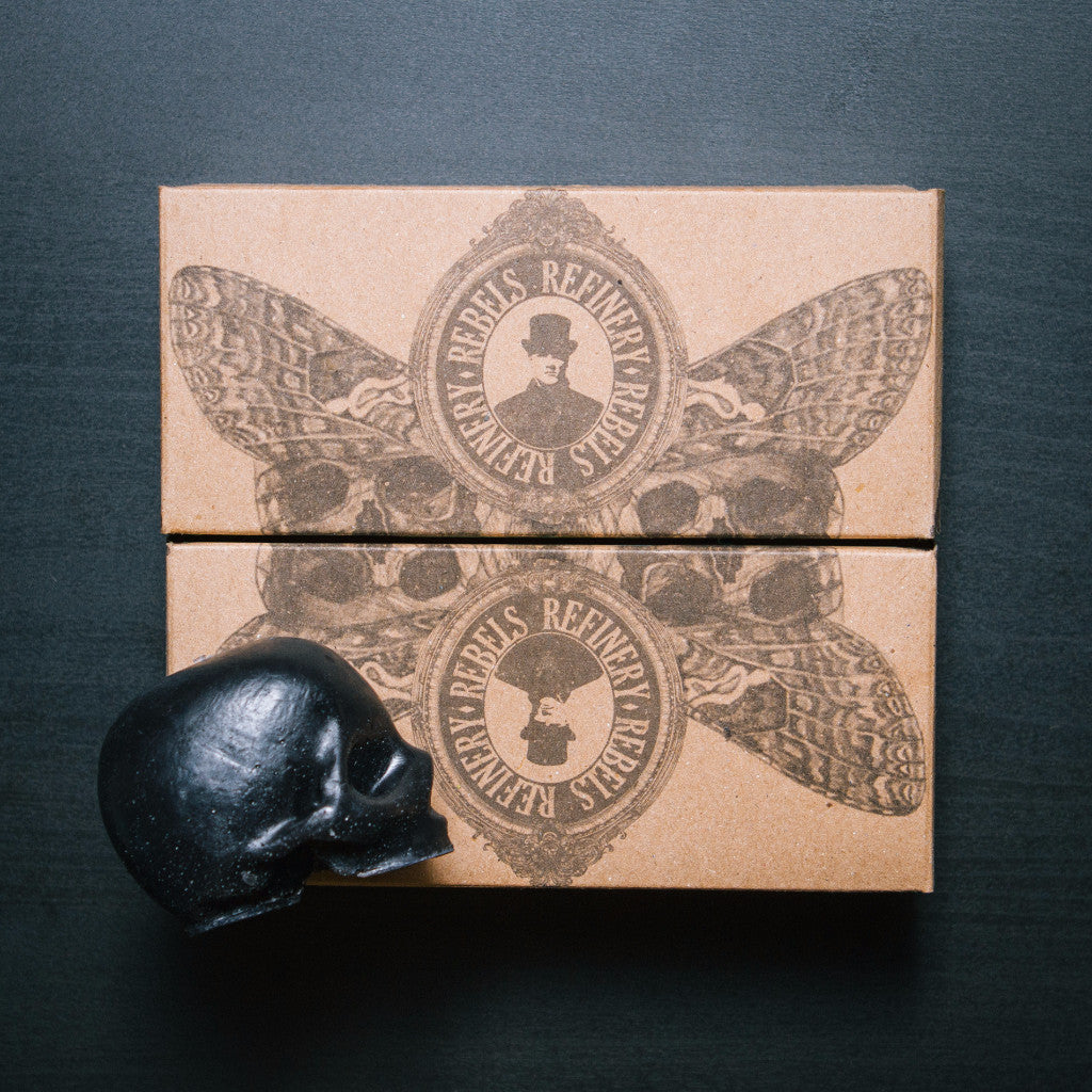 Rebels Refinery - 3 Pack Skull Soaps in Black Charcoal or Glycerin