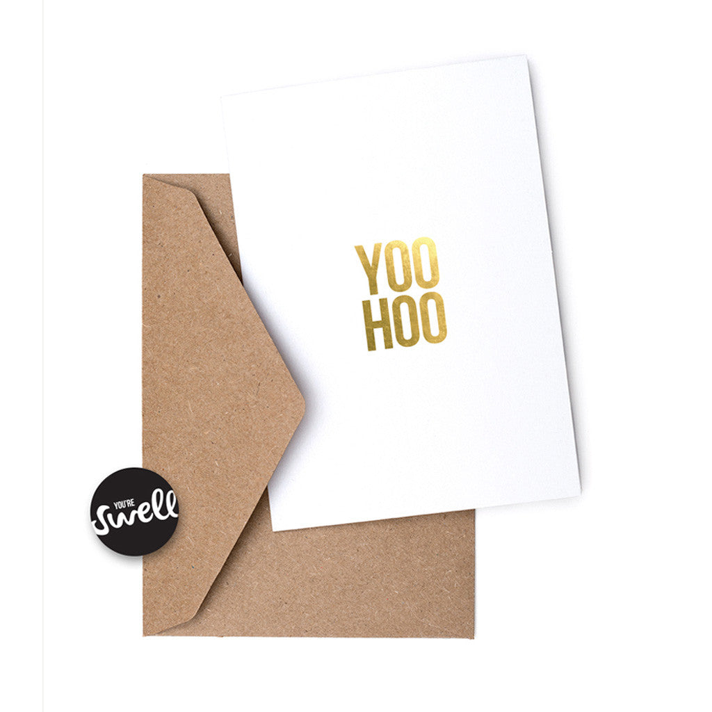 Swell Made - Yoo Hoo Greeting Card
