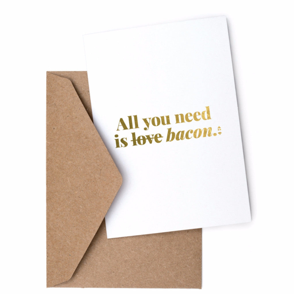 TCC x Swell Made Exclusive  - Bacon Love Greeting Card