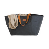 PAPER by Kollab Beach Bag Coal