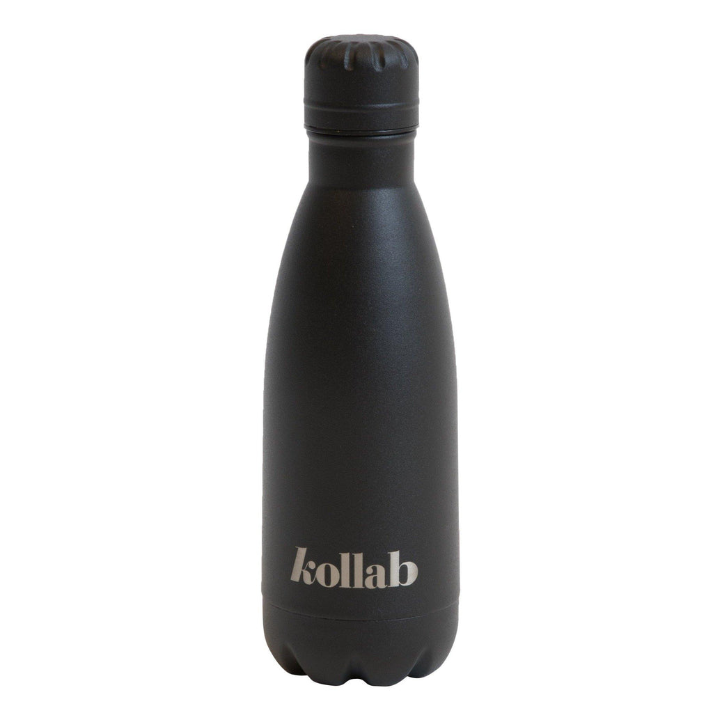 Flask 350ml Powder Coated Black