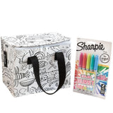 Lunch Box Holiday Colour In & Sharpie Set
