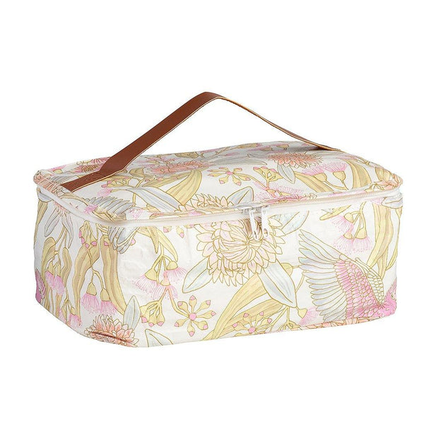 Toiletry Stash Bag Galah Floral