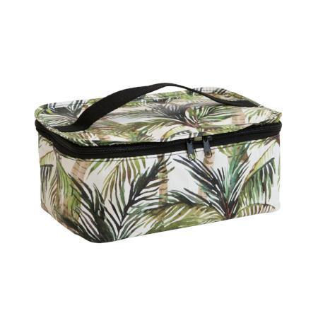 Toiletry Stash Bag Green Palm