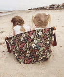 Beach Bag Hibiscus - BACK IN STOCK!