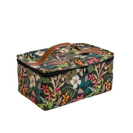 Toiletry Stash Bag Hibiscus