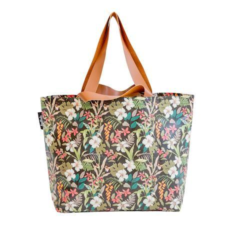 Shopper Tote Hibiscus - PRE ORDER: FEB DELIVERY