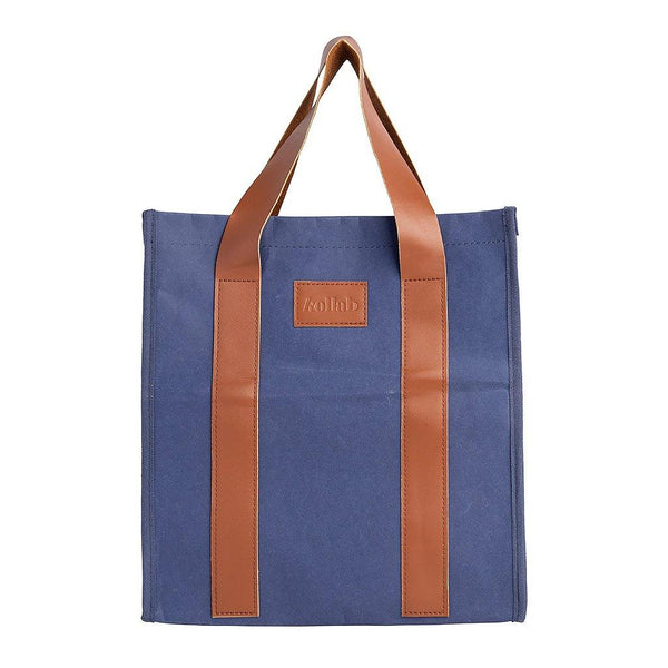 PAPER by Kollab Market Bag Blue