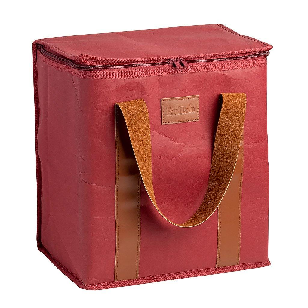 PAPER by Kollab Burgundy Cooler Bag