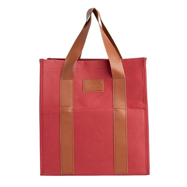 PAPER by Kollab Market Bag Burgundy