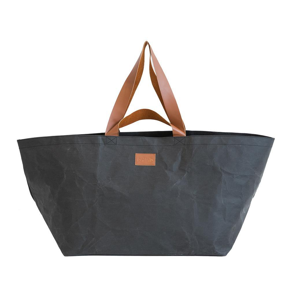 PAPER by Kollab Beach Bag Coal **BACK IN JANUARY 2021**