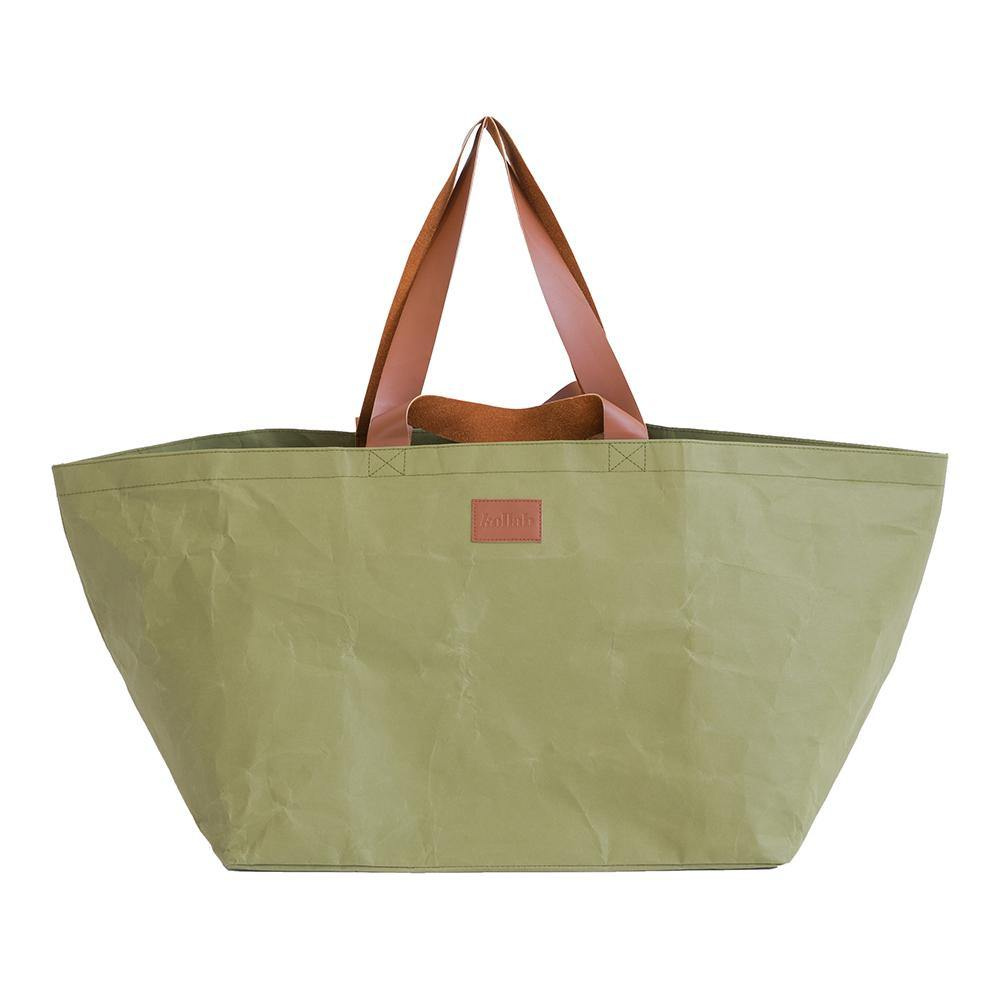 PAPER By Kollab Beach Bag Olive