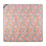 Mini Mat Retro Aqua Floral - NEW!   - Great for couples and children!