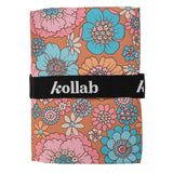 Picnic Mat Retro Aqua Floral - NEW! - kollabsupply