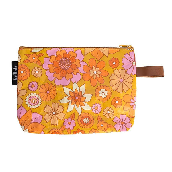 Clutch Retro Mustard Floral - NEW!