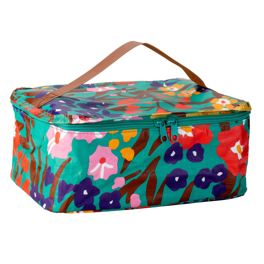 Toiletry Stash Bag Spring Garden