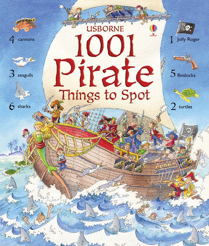 Item #: 301 - 1001 Pirate Things to Spot