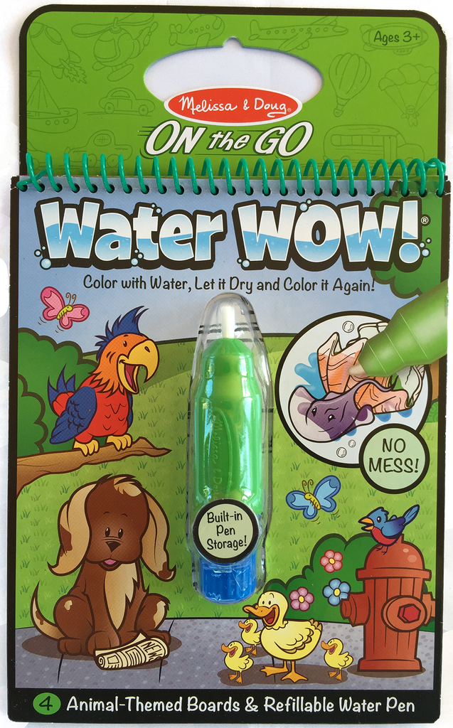 Item #: 312 - Melissa & Doug Water Wow Coloring Book – Animal