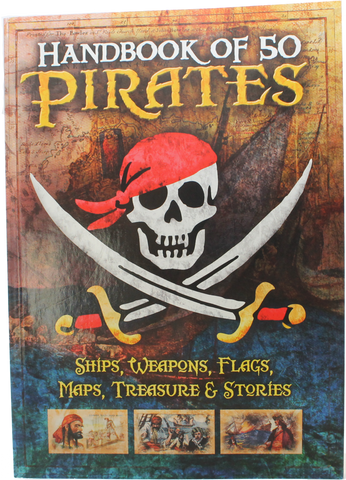 Item #: 302 - Handbook of 50 Pirates
