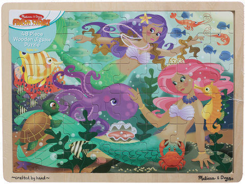 Item #: 120 - Melissa & Doug Mermaid Jigsaw Puzzle
