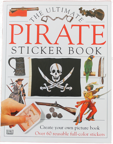 Item #: 323 - Pirate Sticker Book
