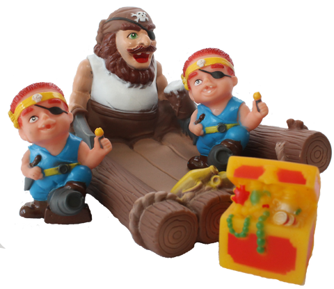Item #: 115 - Pirate on a Raft -Tubby Scrubby