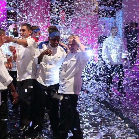 Hell's Kitchen finale: Silver/White Flashy Slowfall Confetti